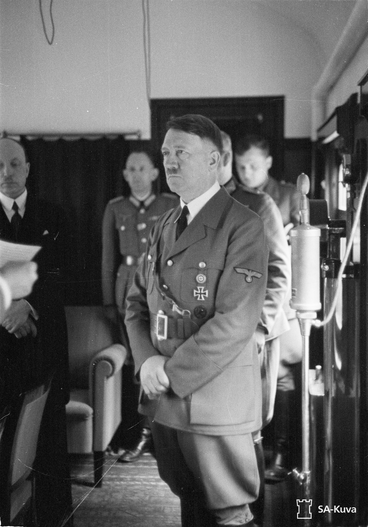 Adolf Hitler in Mannerheim's train